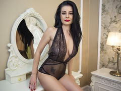 AvaJanson - female with brown hair and  big tits webcam at LiveJasmin