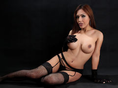 BigCockKatrina - shemale with brown hair webcam at LiveJasmin