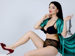 CelineEverson - female with black hair and  big tits webcam at LiveJasmin