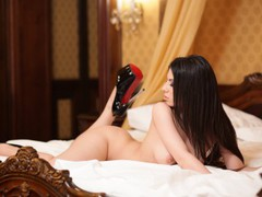 charminex - female with brown hair and  big tits webcam at LiveJasmin