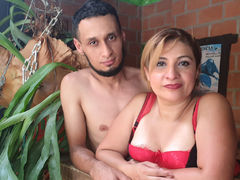 DiosaAndPaul - couple webcam at LiveJasmin