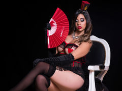 FranchezcaCaruso - female with brown hair and  big tits webcam at LiveJasmin