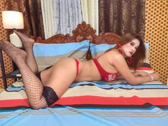 FrancineLamadred - blond shemale webcam at LiveJasmin