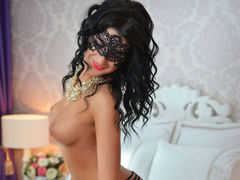 GlamyRebecca - female with black hair and  big tits webcam at LiveJasmin
