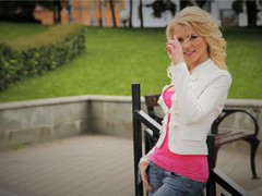 HappyAlone - blond female with  big tits webcam at LiveJasmin