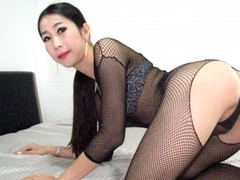 Honeylustxx - shemale with black hair webcam at LiveJasmin