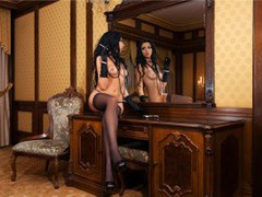 HotMellisa11 - female with black hair webcam at LiveJasmin