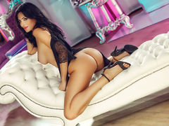 hotellyn - female with black hair and  big tits webcam at LiveJasmin