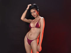 JessieWurtzbach - shemale with black hair and  big tits webcam at LiveJasmin
