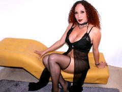 Khazandrax - shemale with red hair webcam at LiveJasmin