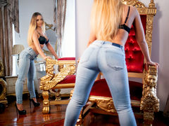 KrystalRoss - blond female with  big tits webcam at LiveJasmin
