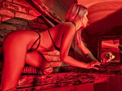 KylieClark - blond female with  big tits webcam at LiveJasmin