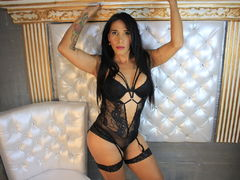 ladymonstercockx - shemale with black hair webcam at LiveJasmin