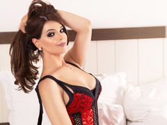 Malkina - shemale with brown hair and  big tits webcam at LiveJasmin