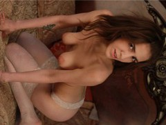 Mellita - female with brown hair and  big tits webcam at LiveJasmin