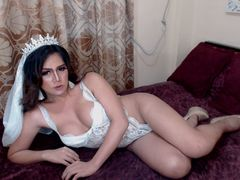 MISSnineINCHESx - shemale with brown hair webcam at LiveJasmin