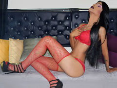 ManillaTuczon - shemale with black hair and  small tits webcam at xLoveCam