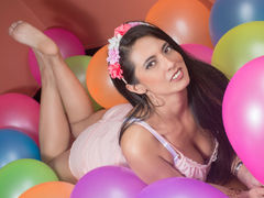 MilaFoxx - female with black hair and  big tits webcam at LiveJasmin