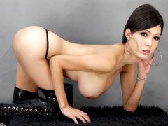 miracleTRANNYx - shemale with black hair webcam at LiveJasmin
