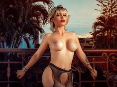 MorganOlatz - blond female with  big tits webcam at LiveJasmin