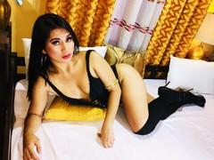 UnCenSWORDasian - shemale with black hair webcam at LiveJasmin