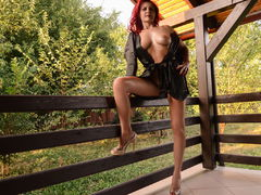 YasmineXO - female with red hair and  big tits webcam at LiveJasmin