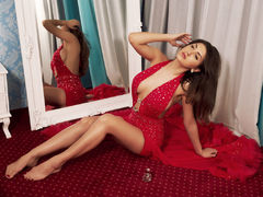 SasshaRed - female with brown hair webcam at LiveJasmin