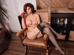 ScarlettFlame - female with red hair and  big tits webcam at LiveJasmin