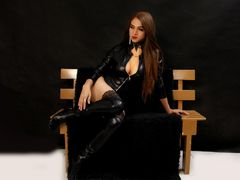 SelenaBrooke - shemale with brown hair webcam at LiveJasmin