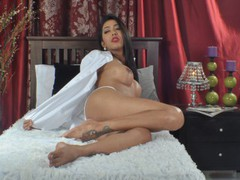 SensualSweetAbby - shemale with black hair and  big tits webcam at LiveJasmin