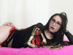sexycatzeve - shemale with brown hair webcam at ImLive