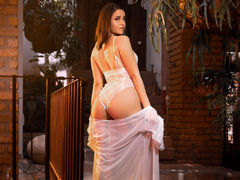SheylaMegan - female with brown hair and  big tits webcam at LiveJasmin