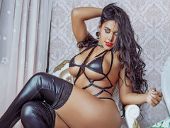 TalianaStar - shemale with black hair and  big tits webcam at LiveJasmin
