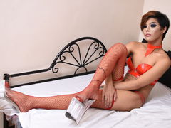THALIAdeBANANA - shemale with black hair webcam at LiveJasmin