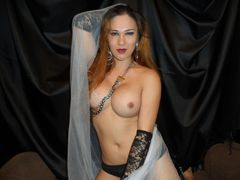 tsHOTTIEonFIRE - shemale with red hair webcam at LiveJasmin