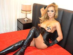 UrSexiestMajesty - blond shemale webcam at LiveJasmin