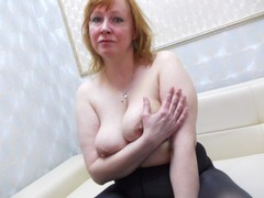 WifeyXRated - female with red hair and  big tits webcam at ImLive