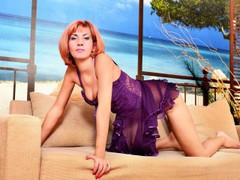 XeniaRed - female with red hair and  big tits webcam at LiveJasmin