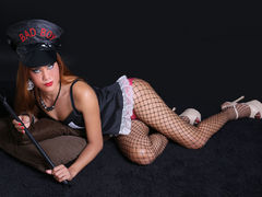 XMistresScarletX - shemale with brown hair webcam at LiveJasmin