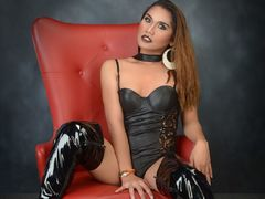 xMonicaOnDutyx - shemale with brown hair webcam at LiveJasmin