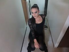 ZoeBrunetteX - shemale with black hair webcam at LiveJasmin