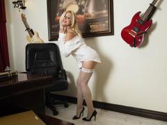 AlissaSinner - blond female webcam at LiveJasmin