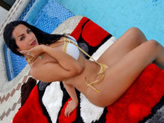 AndreinaTS - shemale with black hair webcam at xLoveCam