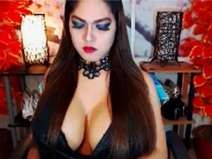 AsianBigCockTS - shemale with brown hair and  small tits webcam at xLoveCam