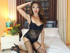 BabyDollFantasy - shemale with brown hair and  small tits webcam at xLoveCam