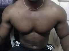 BigBlackMuscle - male webcam at xLoveCam