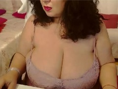 BustyViolet - female with brown hair and  big tits webcam at xLoveCam