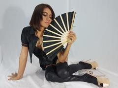 AngelofLove18xxx - shemale with black hair webcam at LiveJasmin