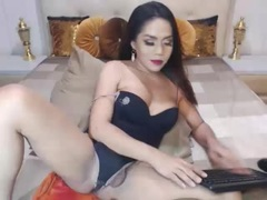 DemiGodSexTS - shemale with brown hair webcam at xLoveCam
