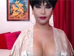 GifteDGirLForYou - shemale with black hair and  small tits webcam at LiveJasmin